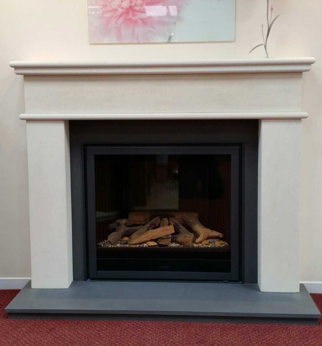 Rio Fireplace & Fire Package - Fireplace by Design