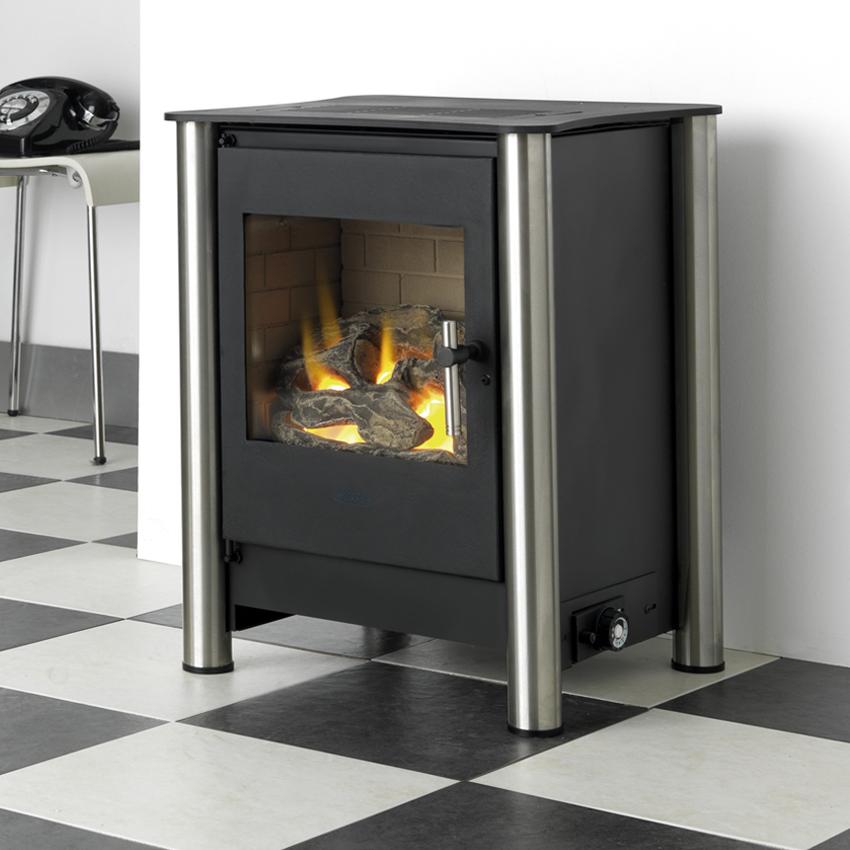 E525 Flueless Fireplace By Design