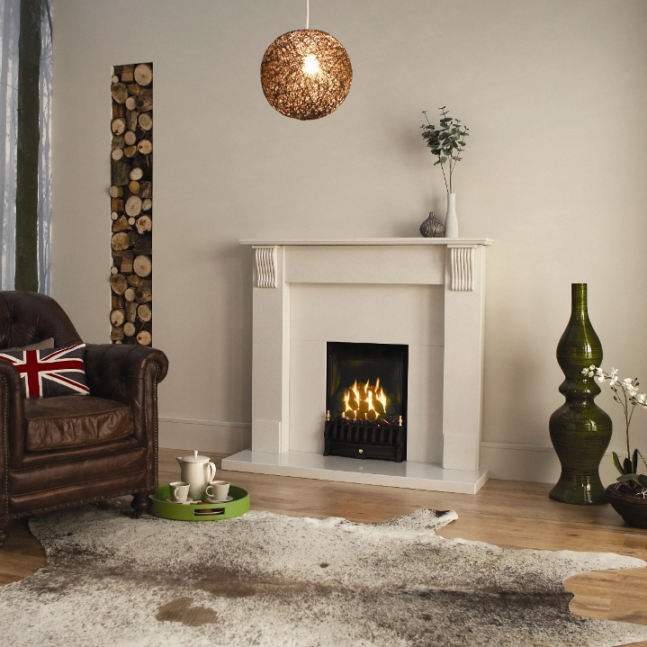 Majestic Decorative Fireplace By Design