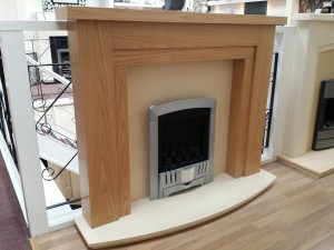 Aluma Fireplace + Fire Package