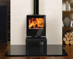 Riva Vision Midi Multi-Fuel Stove with Bench