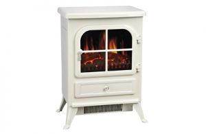 Cream Vista Electric Stove