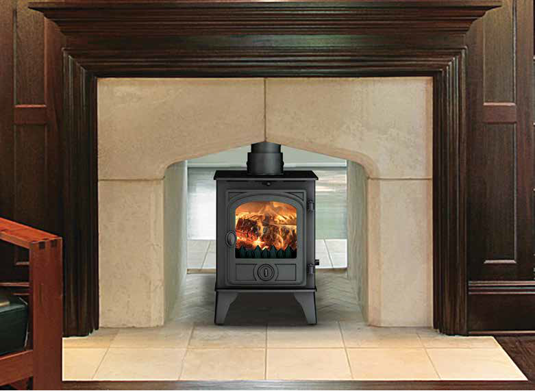 Hawk 4 double sided fireplace by design for 4 sided fireplace