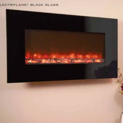 electriflame-black-glass
