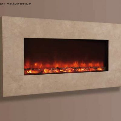 electriflame-travertine