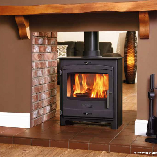 Portway 2 double sided fireplace by design for How to build a double sided fireplace