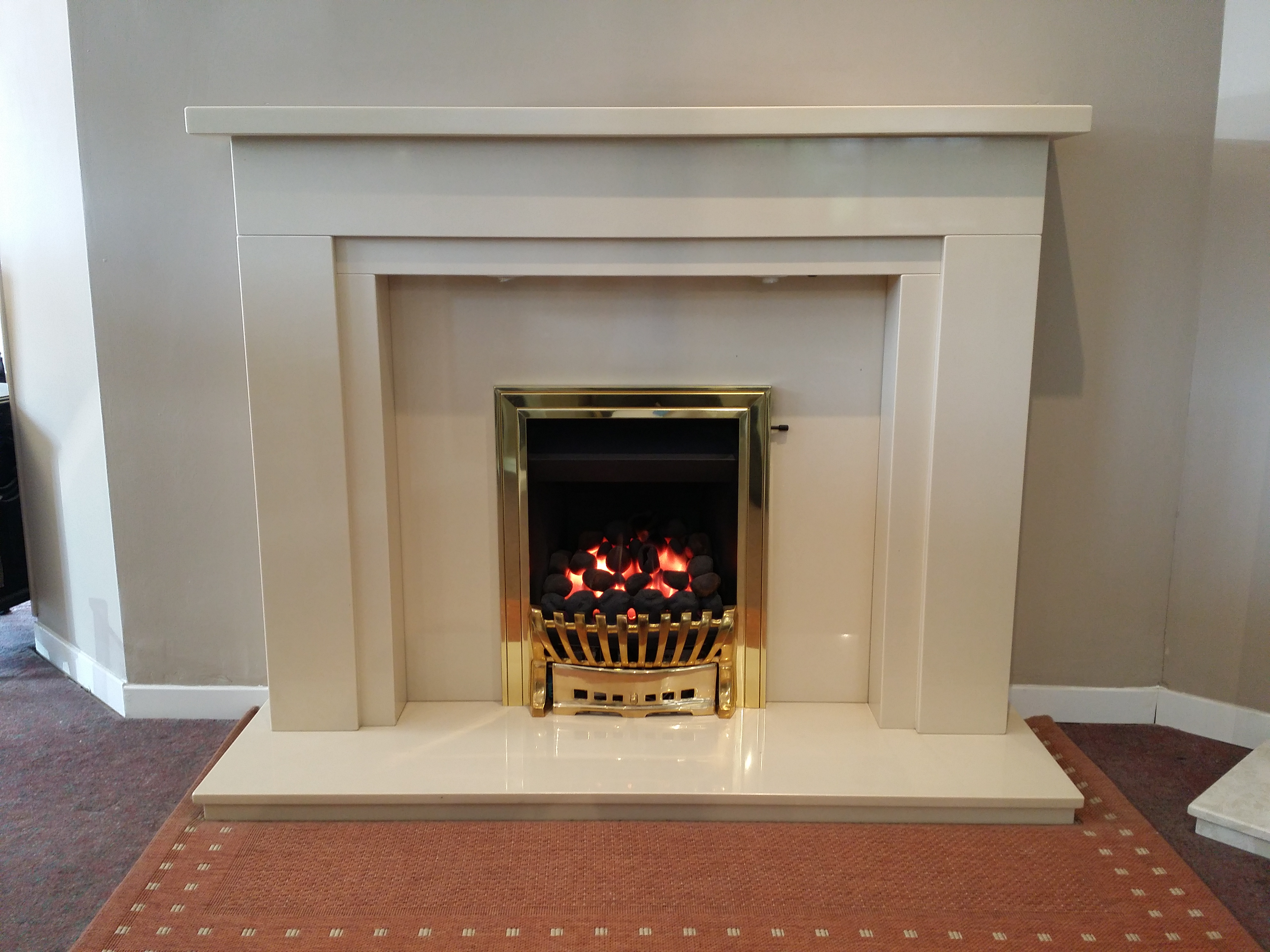 Lazio Marble Fireplace Fireplace By Design