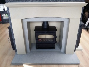 Provence Fireplace & Cladding Set