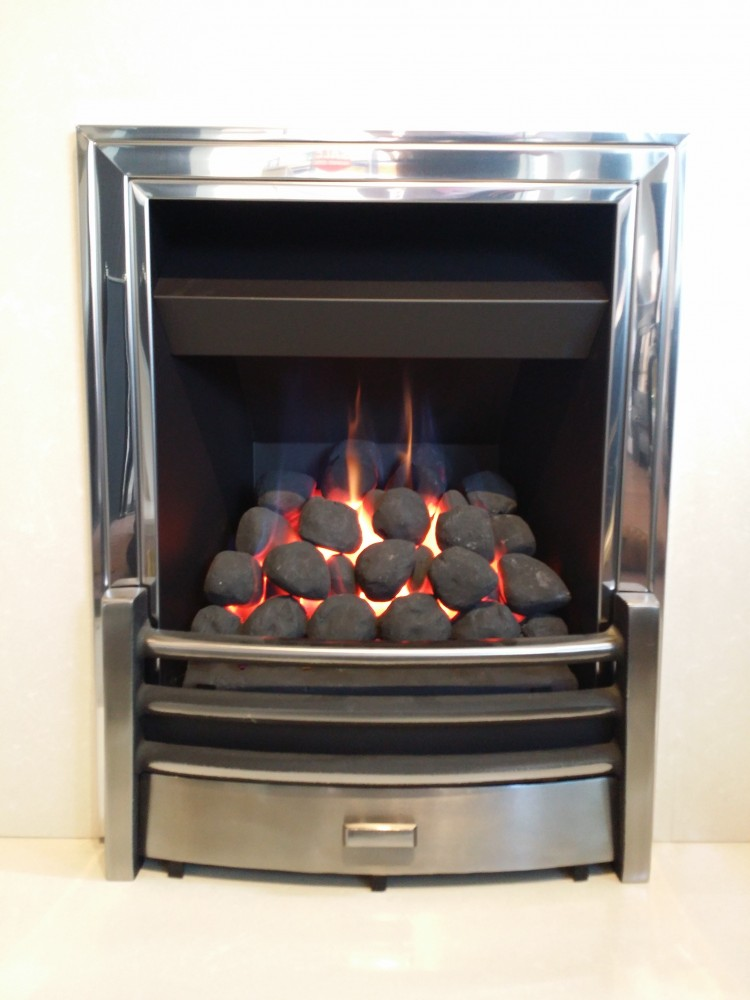 Athena Convector Full Depth Manual Control Fireplace By