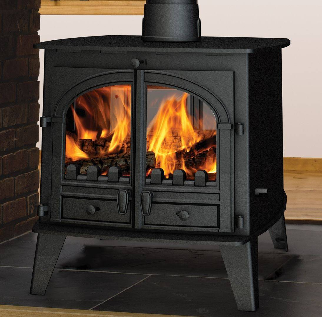 Consort 9 Double Sided - Fireplace by Design