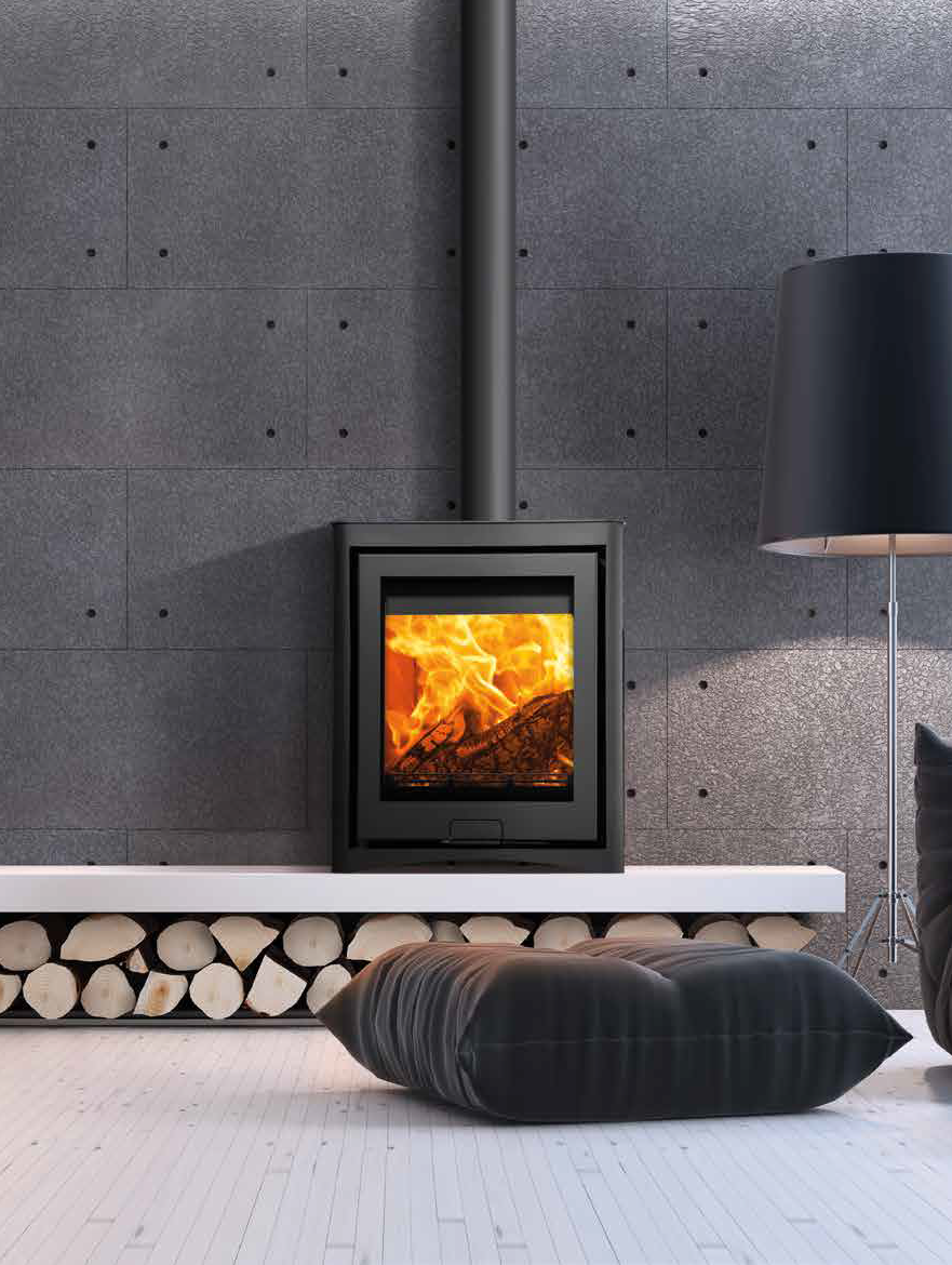 Di Lusso R5 Cube Fireplace By Design